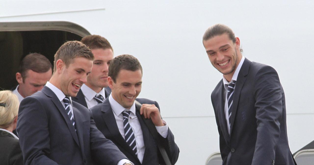 Angielscy piłkarze wylądowali w Krakowie