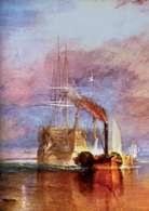 Angielska sztuka: William Turner, Ostatnia droga Téméraire'a, 1838 r /Encyklopedia Internautica