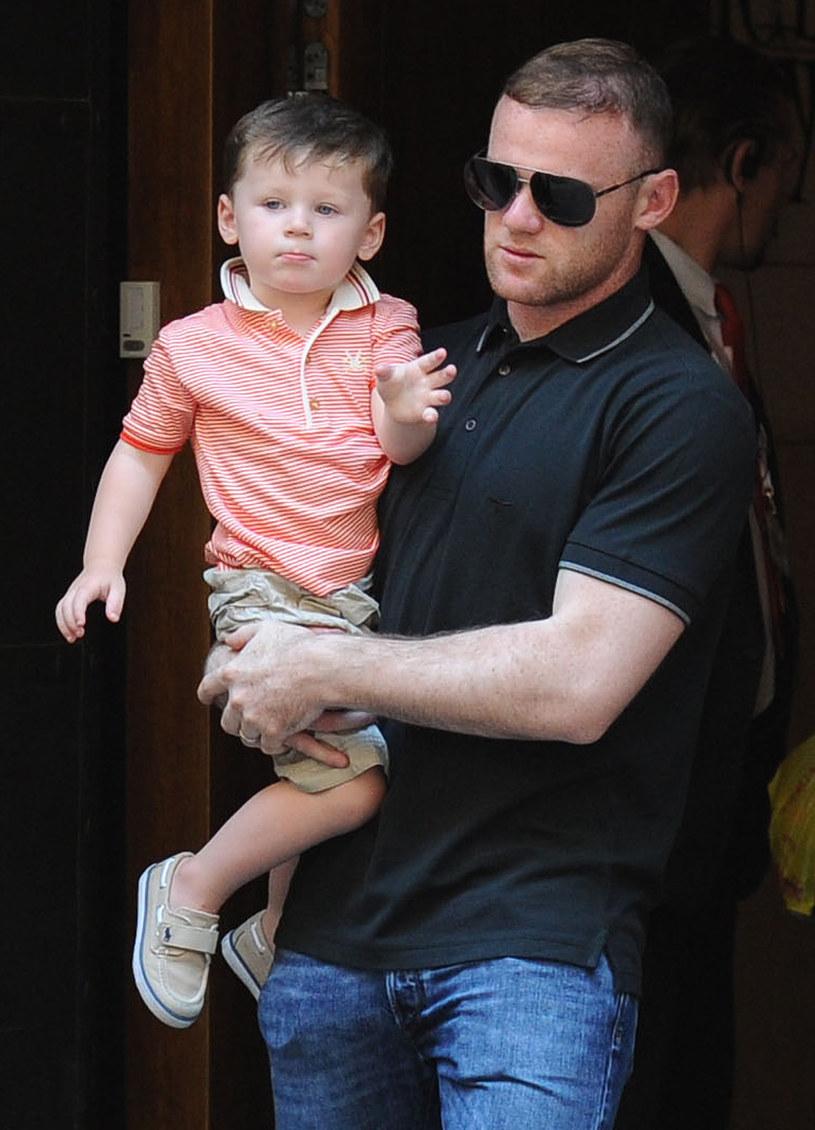 Wayne Rooney Z Żoną