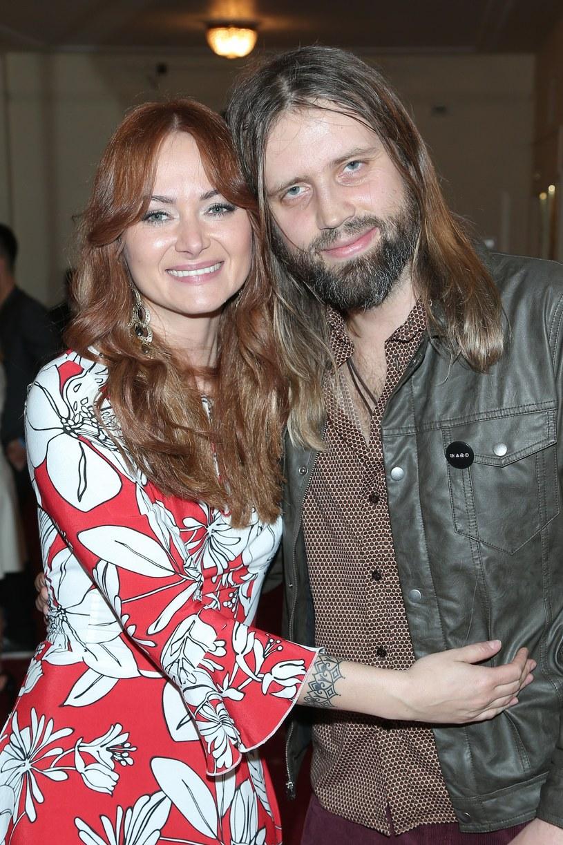 Ania Rusowicz z mężem /Paweł Wrzecion /MWMedia