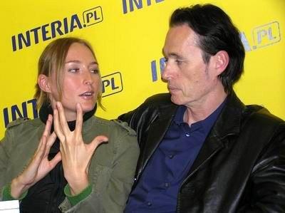 Anita Lipnicka i John Porter zostaną rodzicami /INTERIA.PL