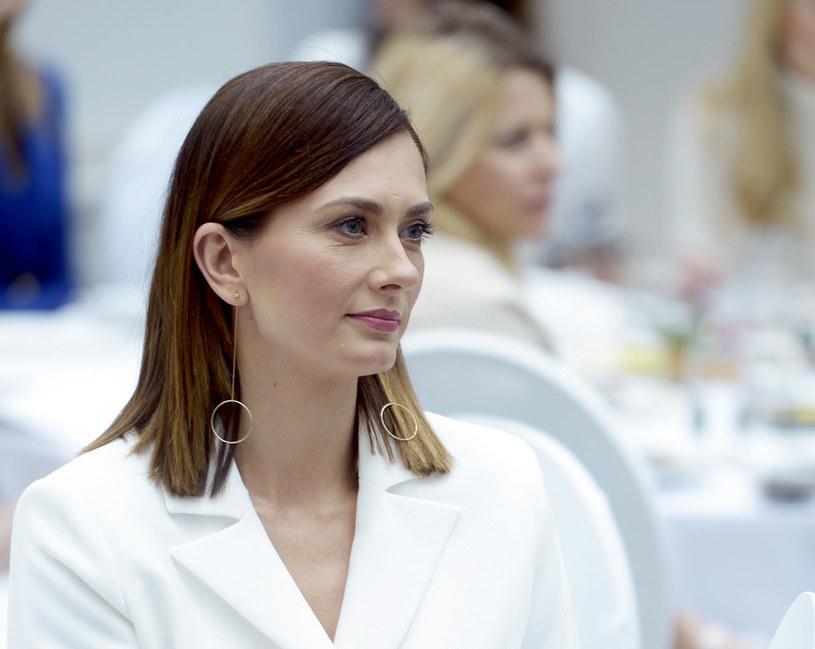 Anita Sokołowska. Konferencja urodowa  Zaffiro z udziałem gwiazd / Mieszko Piętka /AKPA