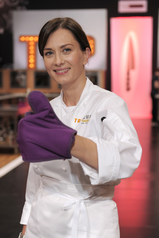 "Anita Sokołowska w ""Top Chefie"" /AKPA"