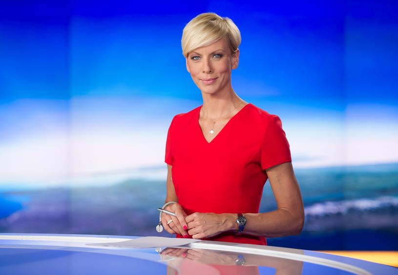Anita Werner nominowana w kategorii prezenter informacji /Bauer