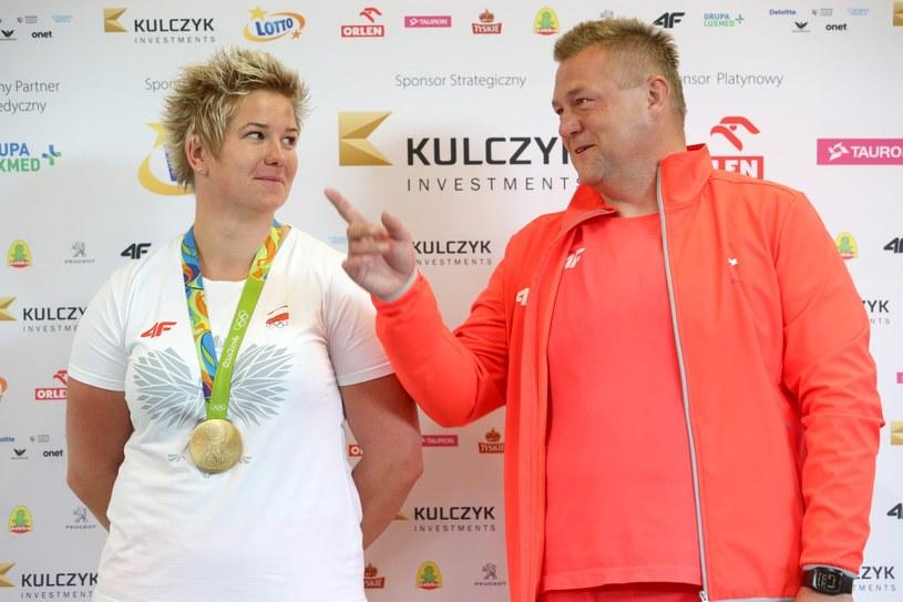 Anita Włodarczyk i Krzysztof Kaliszewski /East News