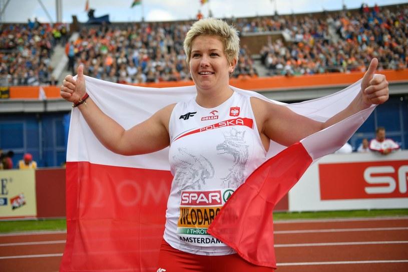 Anita Włodarczyk jest faworytką konkursu rzutu młotem /AFP