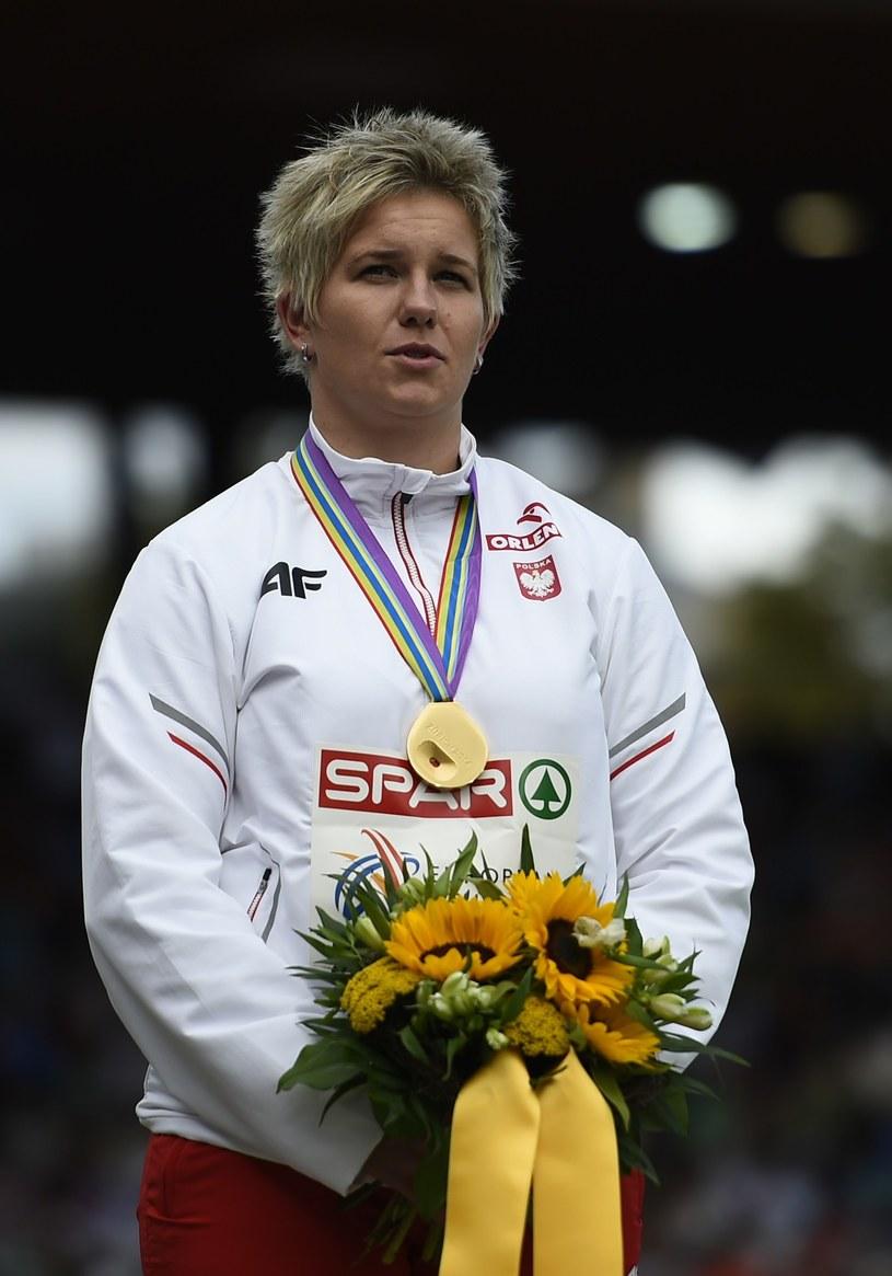Anita Włodarczyk. /AFP