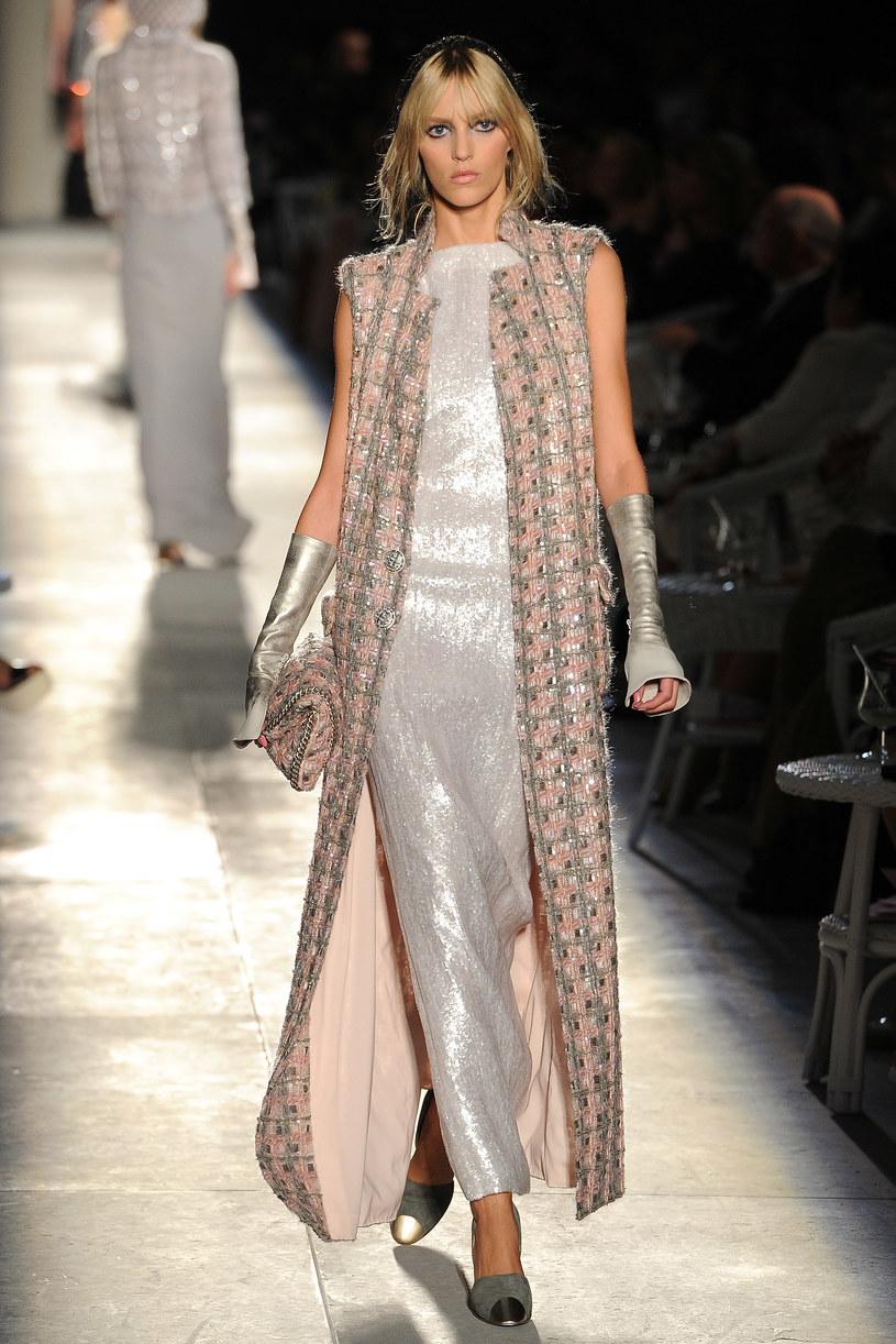 Anja na pokazie Chanel /Getty Images