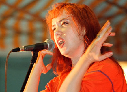 Anja Orhodox (Closterkeller) w 1996 roku - fot. Bartek Zborowski /Agencja SE/East News