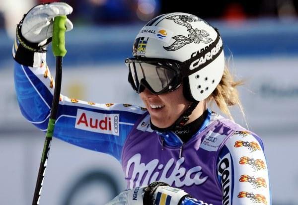 Anja Paerson, z wywalecznie medalu na IO nie dostanie premii finansowej. /AFP