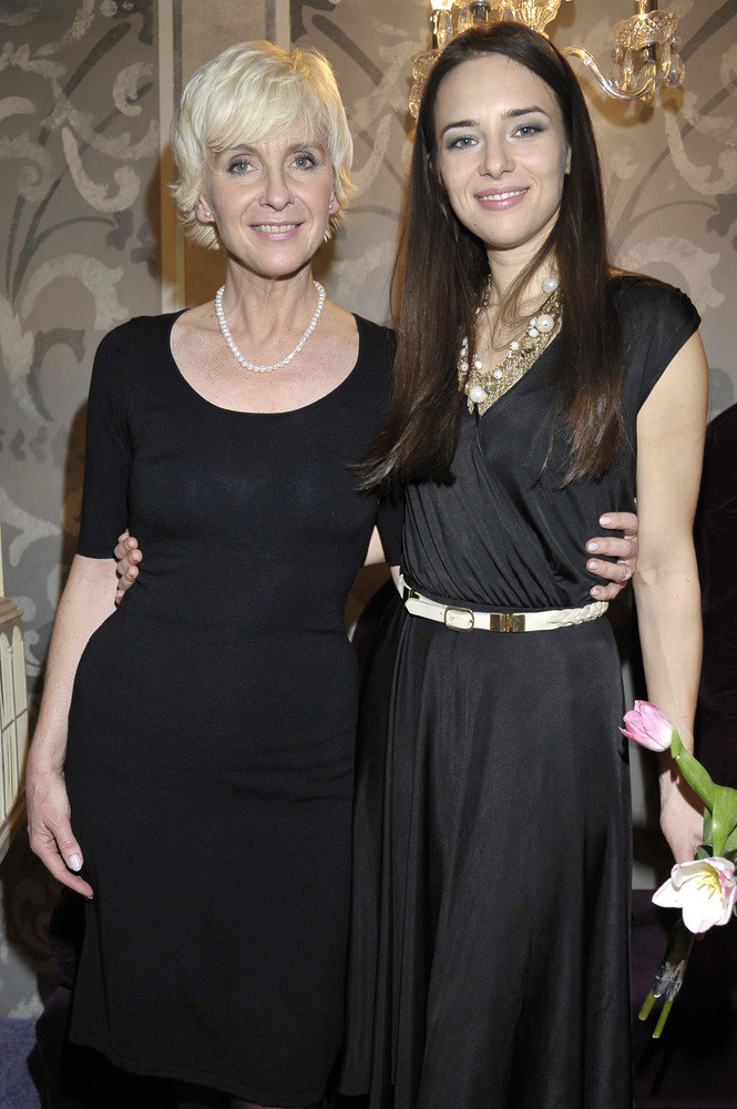 Anna Czartoryska z mamą Ewą Komorowską, wdową po Stanisławie Komorowskim  /Andrzej Engelbrecht /AKPA