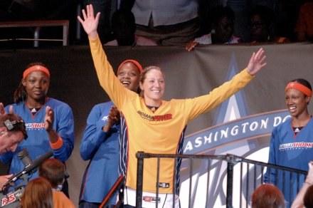 Anna DeForge poprowadziła Wschód do zwycięstwa Fot. Jennifer Pottheiser/NBAE/Getty Images /