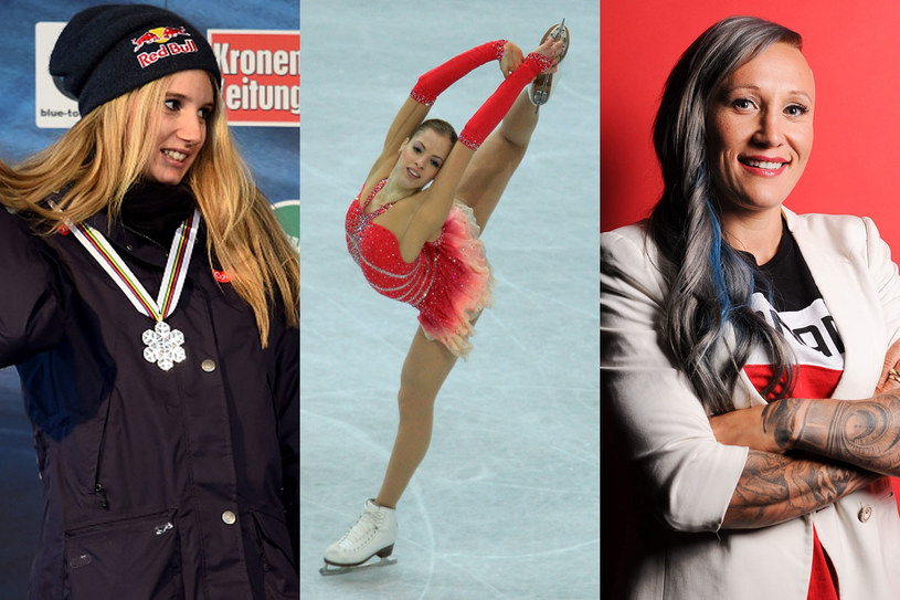 Anna Gasser, Carolina Kostner i Kaillie Humphries /Getty Images