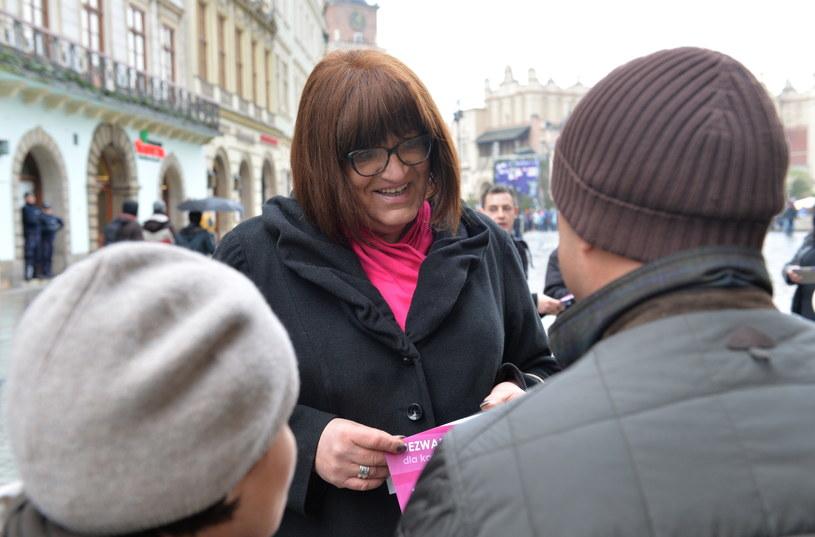 Anna Grodzka /Jacek Bednarczyk /PAP