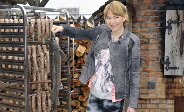 Anna Guzik też zajęła się gotowaniem /AKPA
