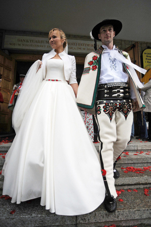 Anna Guzik z mężem /Maciej Gillert /East News