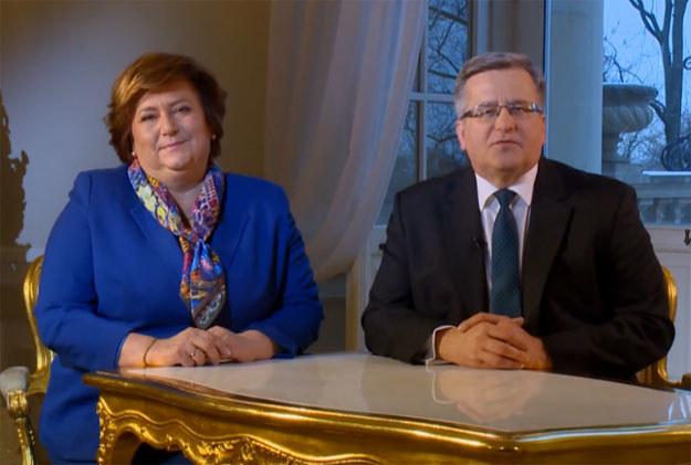 Anna i Bronisław Komorowscy złożyli życzenia Babciom i Dziadkom fot. prezydent.pl /&nbsp