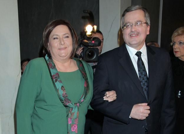 Anna i Bronisław Komorowscy /Pawel Wrzecion /MWMedia