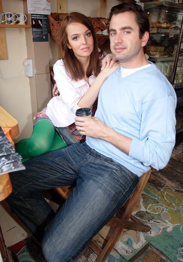 Anna i Chris, fot.Piotr Apolinarski  /Agencja FORUM