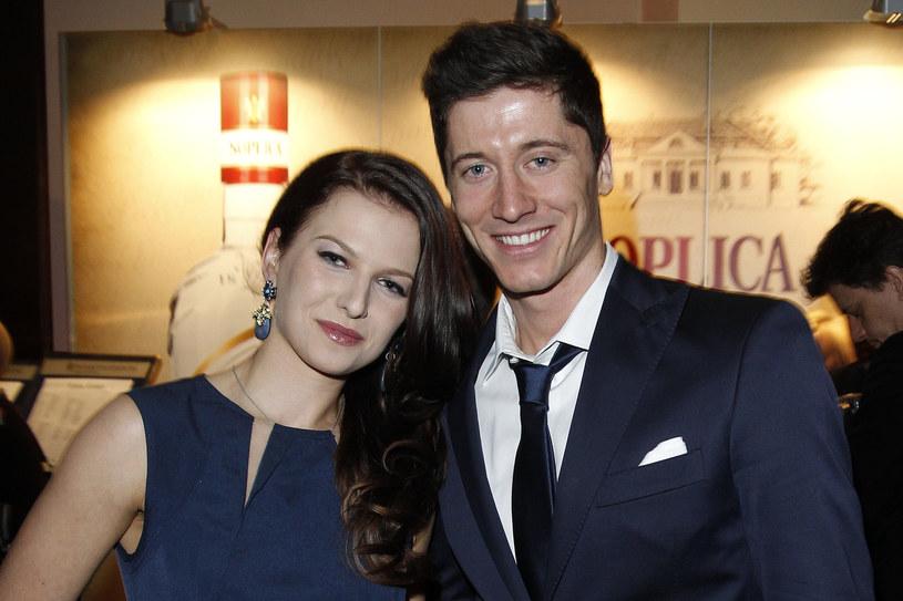 Anna i Robert Lewandowscy /AKPA