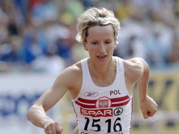 Anna Jesień zajęła trzecie miejsce na 400 m ppł /AFP
