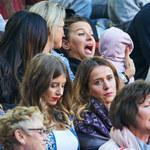 Anna Lewandowska na meczu z Klarą. Tak kibicowały Robertowi!