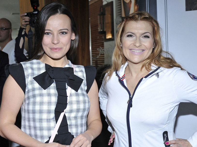 Anna Mucha i Katarzyna Skrzynecka /Mieszko Piętka /AKPA