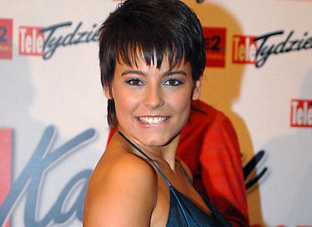 Anna Mucha podczas Telekamer Tele Tygodnia 2008, fot. Andrzej Szialgyi /MWMedia