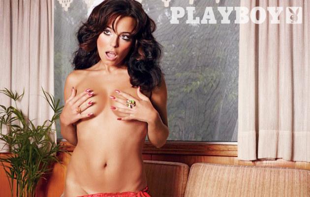 """Anna Mucha w """"Playboyu""""  /materiały prasowe"""