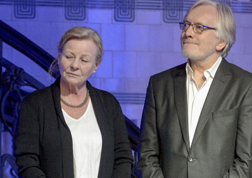 Anna Nehrebecka i Andrzej Seweryn /East News