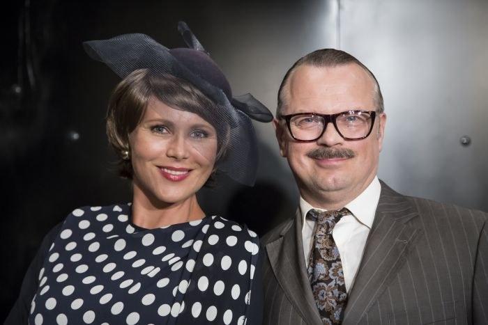"Anna Samusionek i Piotr Szwedes ""Pod wspólnym niebem"" /TVP"