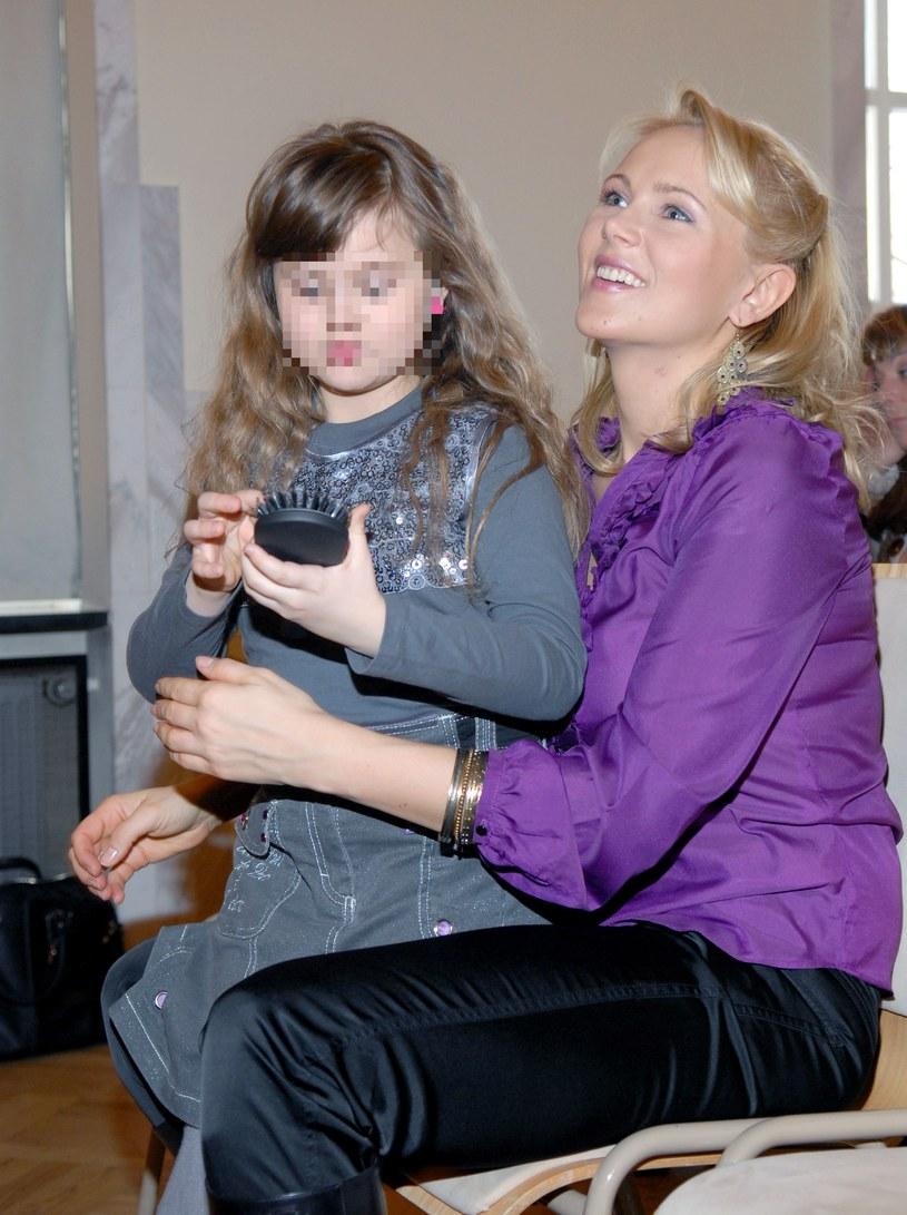 Anna Samusionek z córką /- /MWMedia
