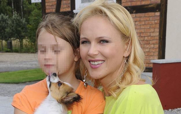 Anna Samusionek z córką /Jarosław Antoniak /MWMedia