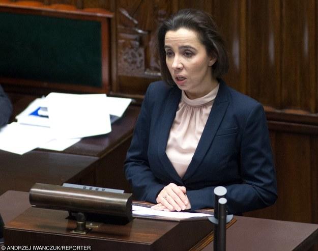 Anna Surówka-Pasek, podsekretarz stanu w kancelarii prezydenta /Andrzej Iwańczuk /Reporter