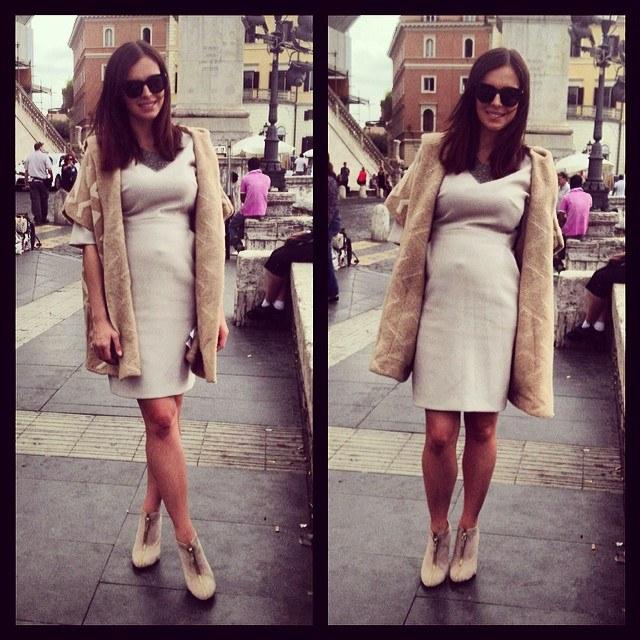 Anna Wendzikowska w ciąży /Instagram /internet