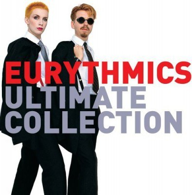 Annie Lennox i Dave Stewart (Eurythmics) na okładce płyty /