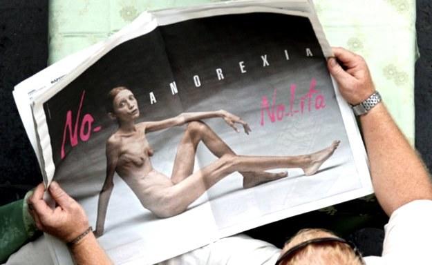 Anoreksja to choroba, która dotyka również mężczyzn /AFP
