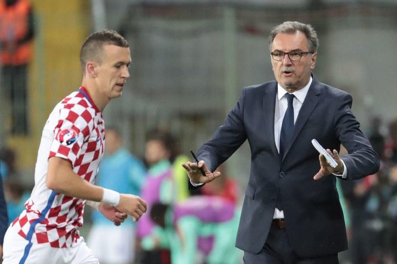 Ante Cacić (z prawej) i Ivan Periszić /AFP
