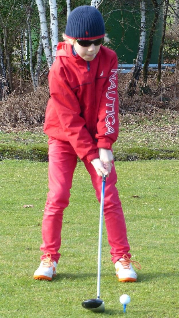Antek i golf