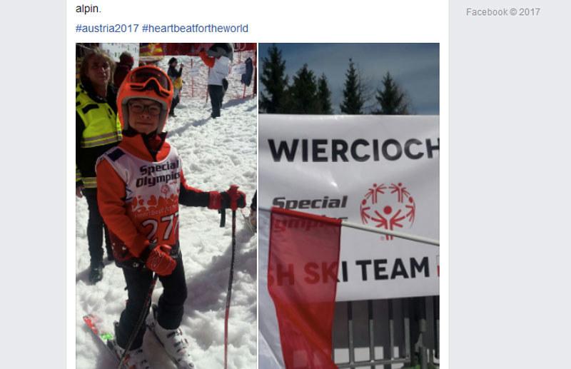 Antek Wiercioch / Special Olympics World Games 2017 /