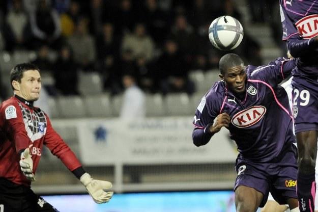 Anthony Modeste strzela gola na wagę zwycięstwa Bordeaux /AFP