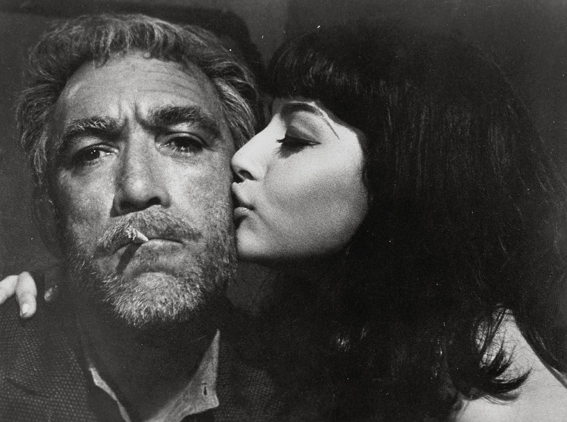 "Anthony Quinn w filmie ""Grek Zorba"" /20th Century Fox /East News"