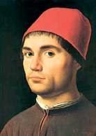 Antonello da Messina, Portret męski uważany czasem za autoportret, 1474-76 /Encyklopedia Internautica