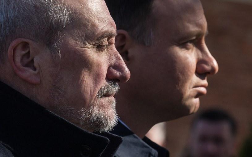 Antoni Macierewicz i Andrzej Duda /Bartosz Krupa /East News