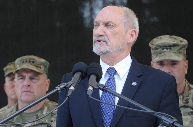 Antoni Macierewicz, minister obrony narodowej /AFP