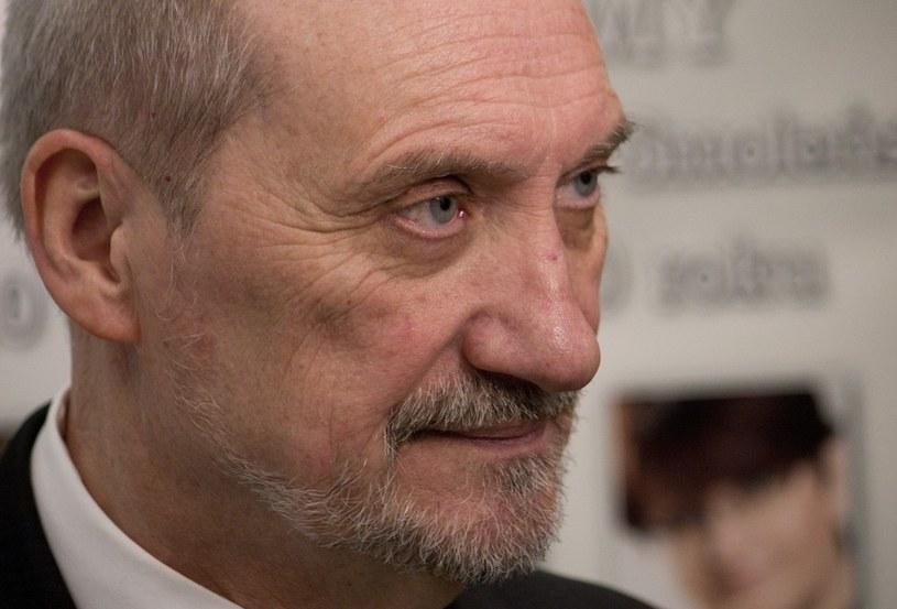 Antoni Macierewicz /Krystian Dobuszyński /Reporter