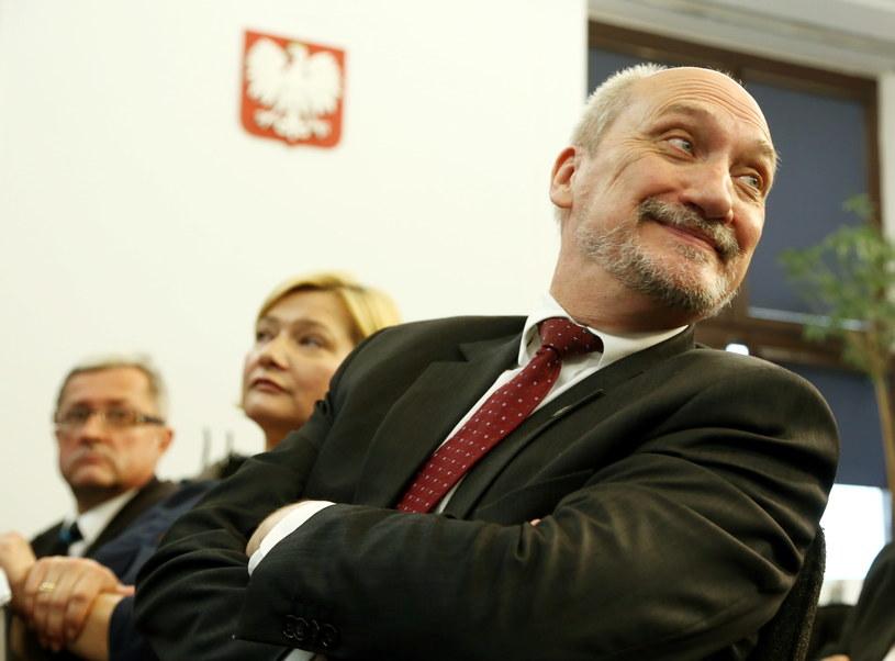 Antoni Macierewicz /Tomasz Gzell /PAP