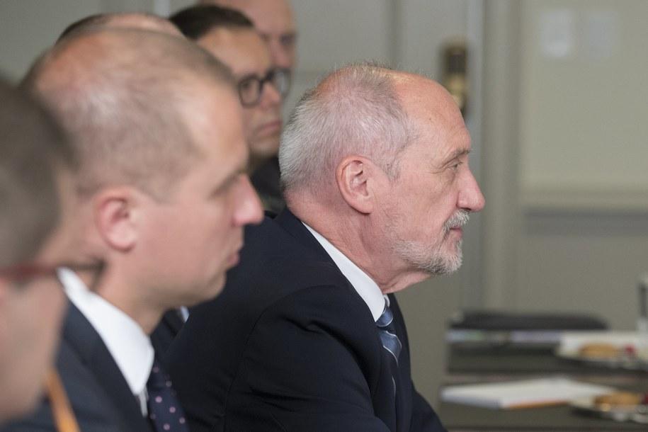 Antoni Macierewicz /MICHAEL REYNOLDS    /PAP