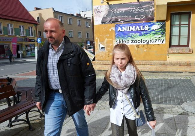 Antonia i jej ojciec. /Adam Warżawa /PAP