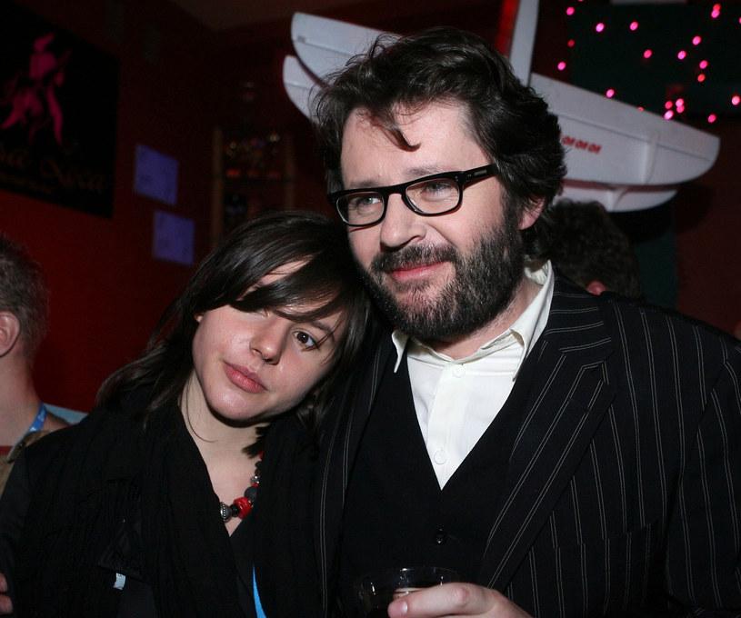 Antonina Turnau-Kondrat z ojcem Grzegorzem /Piotr Fotek /Reporter
